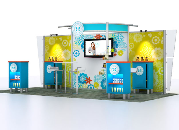 Custom Exhibition Stands VK-2064