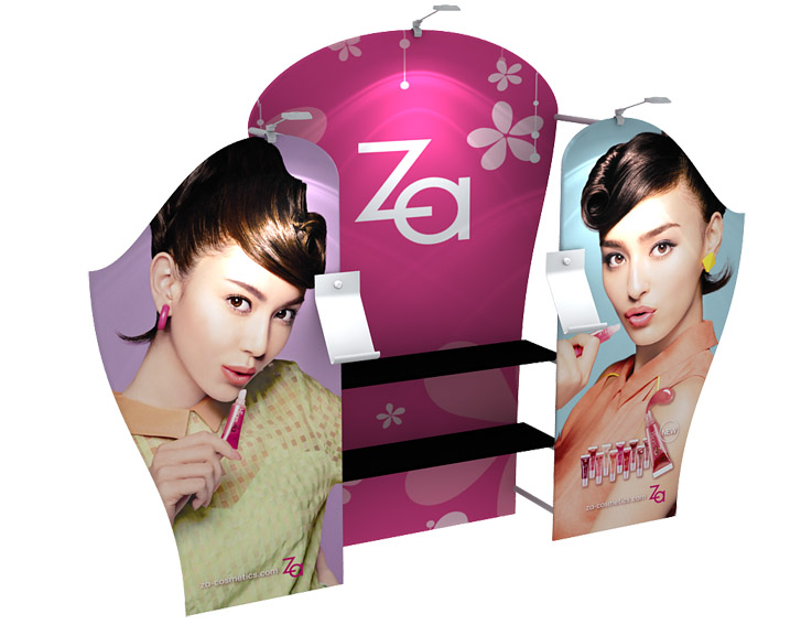 Portable Display Stand EXP-3D3F