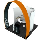 Portable exhibition stands with arch