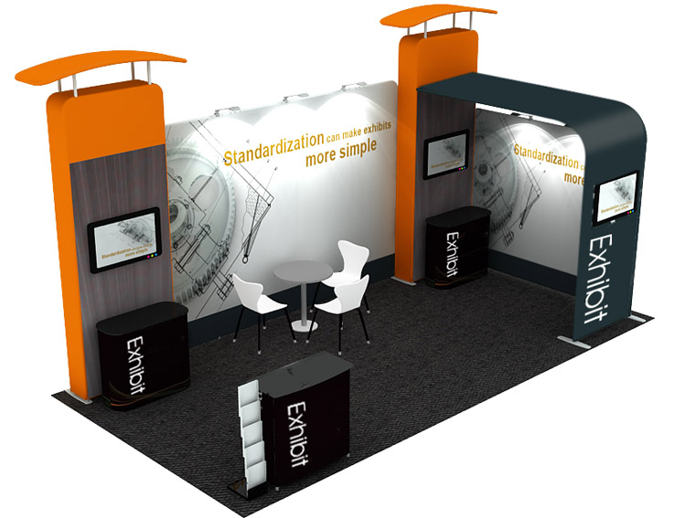 Portable Exhibition Stands Singapore : Portable display stand