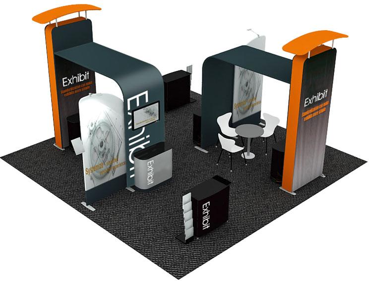 Exhibition Stand Design Best Practice : Trade show displays portable display stands nvp exhibits
