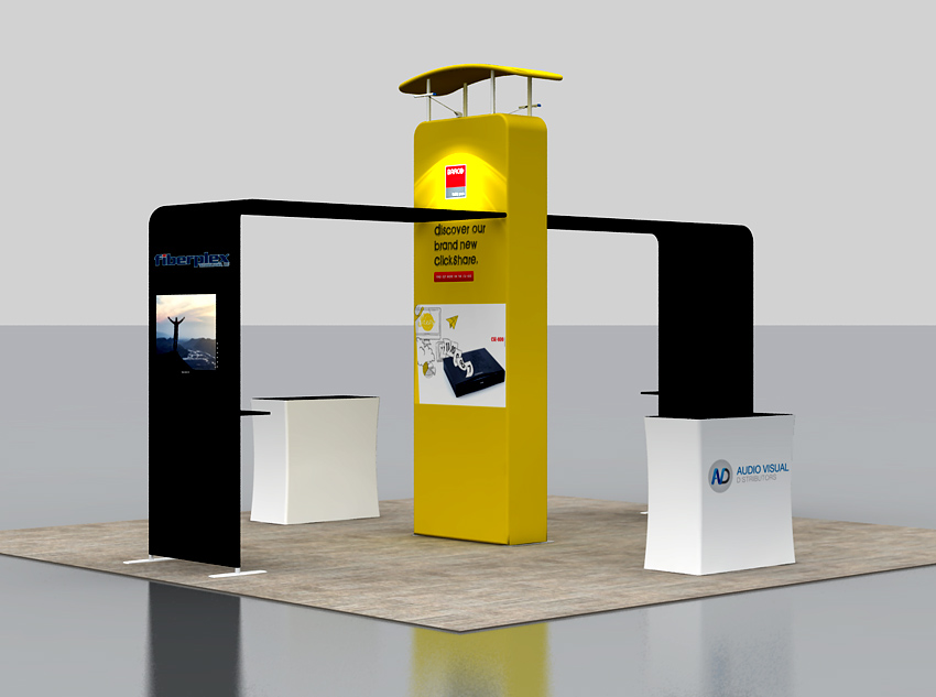 Portable Display Stand EXP-665