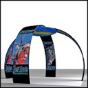 portable display stand for 6m spaces