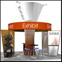 portable island display stand design