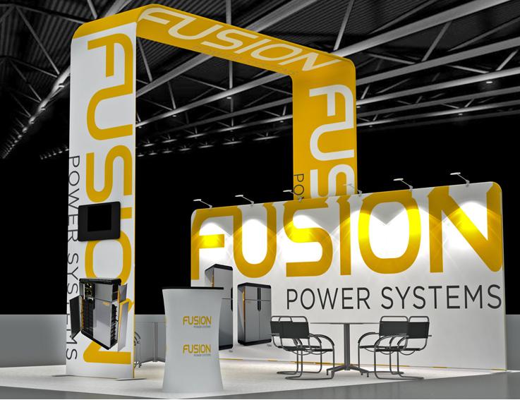 Fusion Portable Display Stand