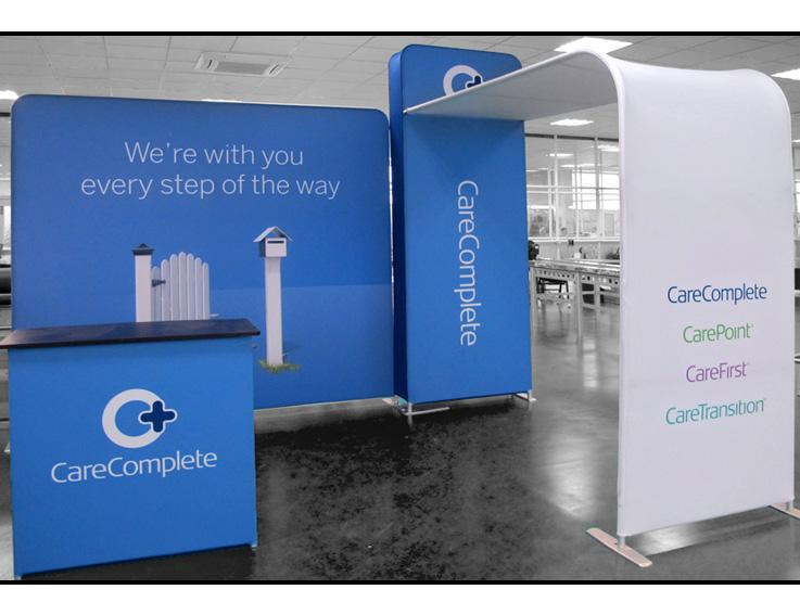 Medibank Portable Display Stand