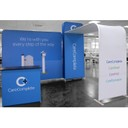 Medibank portable display stands