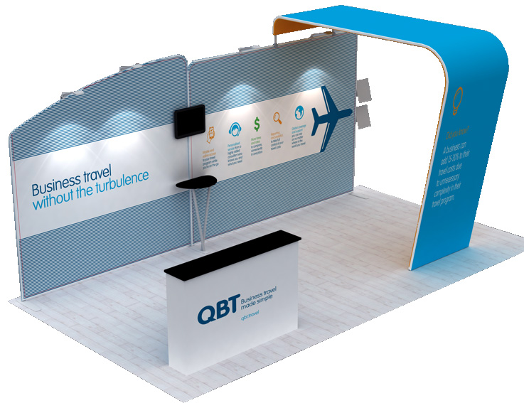 QBT Portable Display Stand
