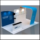 portable display stand with multi branding