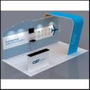 QBT portable display stands