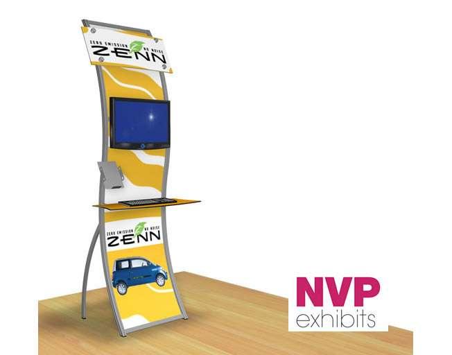 Portable Digital Kiosk Stand