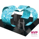 Moon Room - Island Display Stands and tension Fabric displays by NVP Exhibits - Sydney, Melbourne and Brisbane