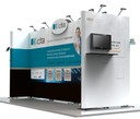 ICITA Stand - island stands design by NVP Exhibits