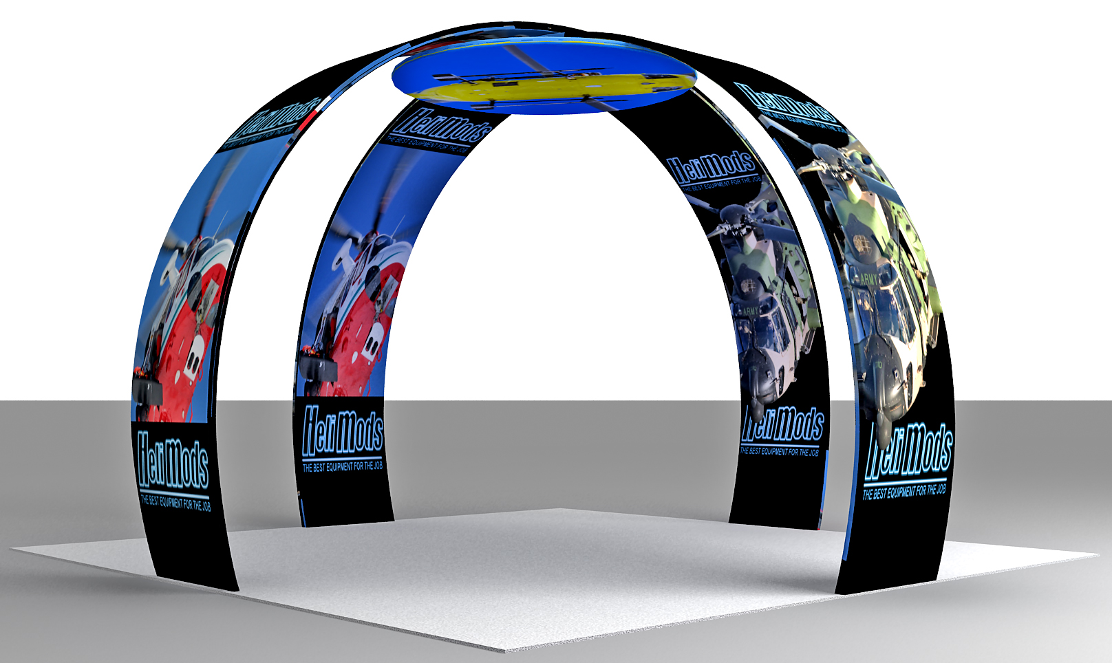 Portable Island Exhibition Stand