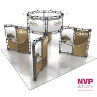CANIS Orbital truss display system Sydney , Brisbane  and Melbourne
