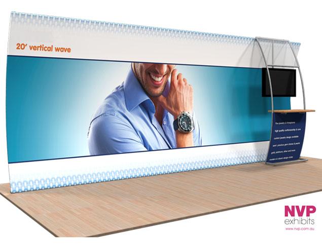 Modular exhibition stands NVP-034