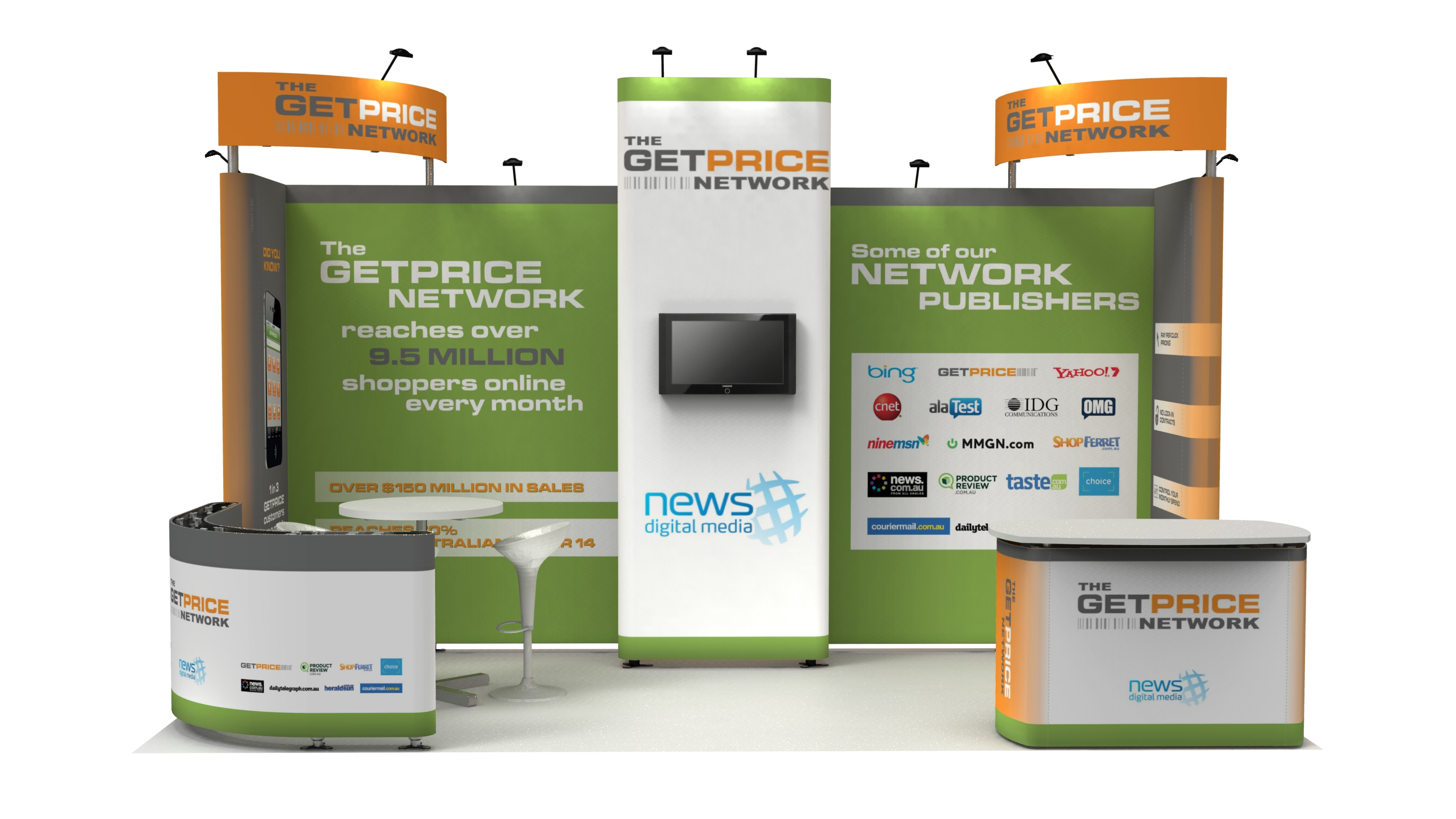 Modular Exhibition Display Stands : Modular exhibition stands nvp