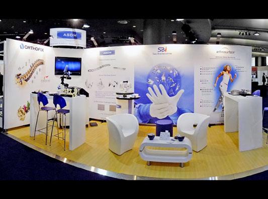 Modular Exhibition Stands NVP-010