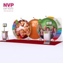Modular Exhibition Stands - Back to school 6m version