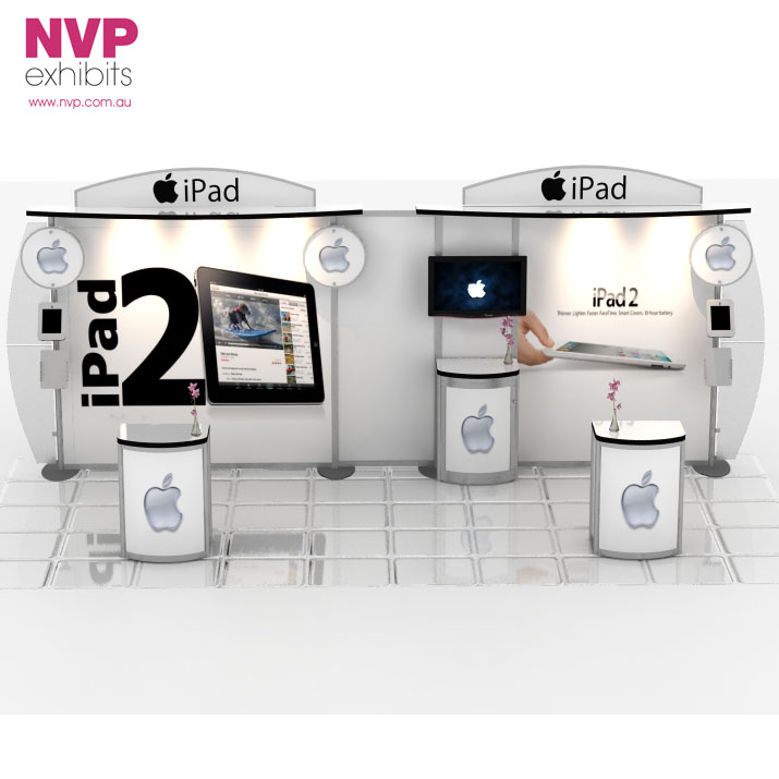 Modular Exhibition Stand By Me : Modular exhibition stands nvp