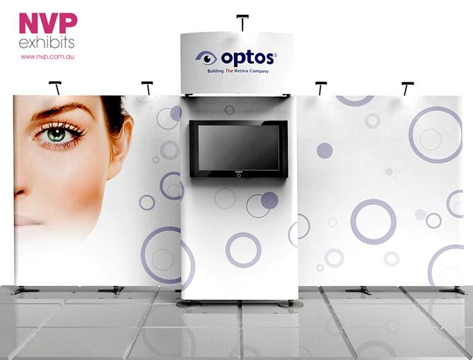 Modular exhibition stands NVP-022