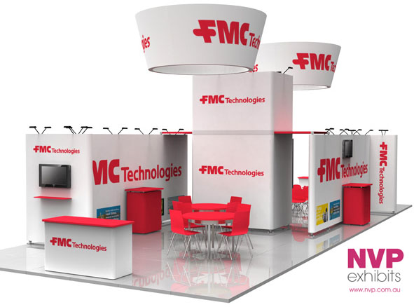 Modular exhibition stands NVP-025