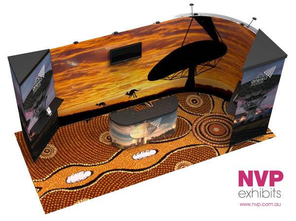 Modular exhibition stands NVP-031