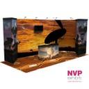 Portable custom stands by NVP Exhibits Australia