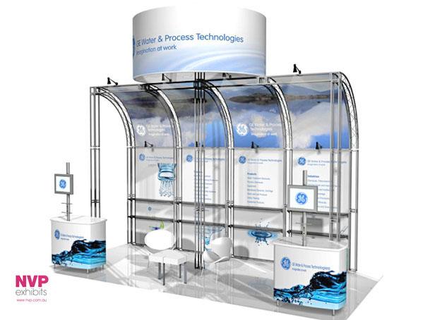 Modular exhibition stands NVP-032