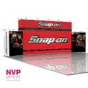 Modular Exhibition Stands - Snap on tools