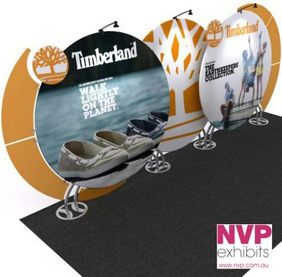 Modular Exhibition Stands - Timberland