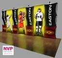 6m by 3m Pop up stand with backlit LED