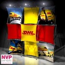 Pop up stand DHL