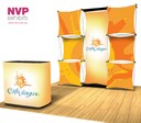 pop up display stand for trade show and point of purchase