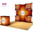 Pop Up Display Stand with light box