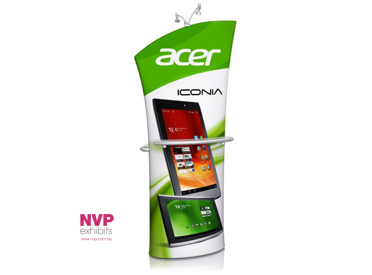 Portable Display Kiosk - Angled