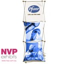 1x3 A Xpressions XSNAP Pop Up Display Stand