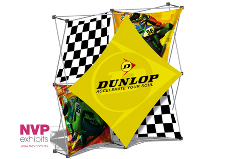 Xpressions SNAP™ 2x2 C Pop Up Display Stand