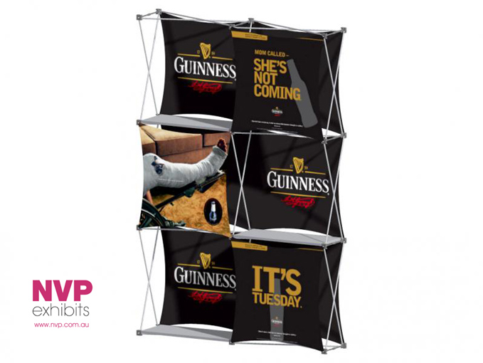 Xpressions SNAP™ 2x3 G Pop Up Display Stand
