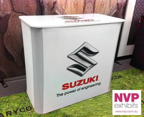 Portable Exhibition Counter : Exhibition counter — exhibit design