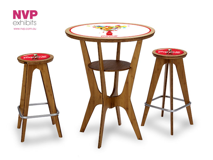 Portable Table & Chairs for exhibitors