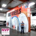 big portable exhibition stands and trade show displays