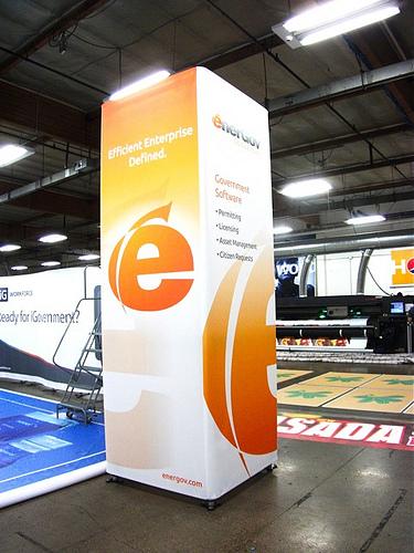 Exhibition Stand Brief : Quad tower m high wide — exhibit exhibition design