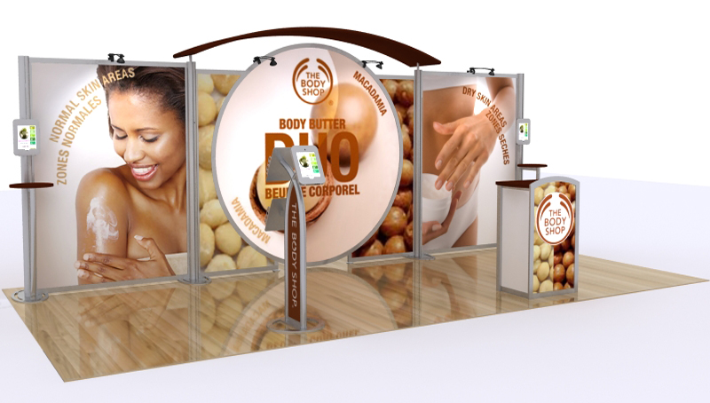 Exhibition iPad Stations and Kiosks