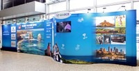 Melbourne International Airport - Portable Free standing retail store